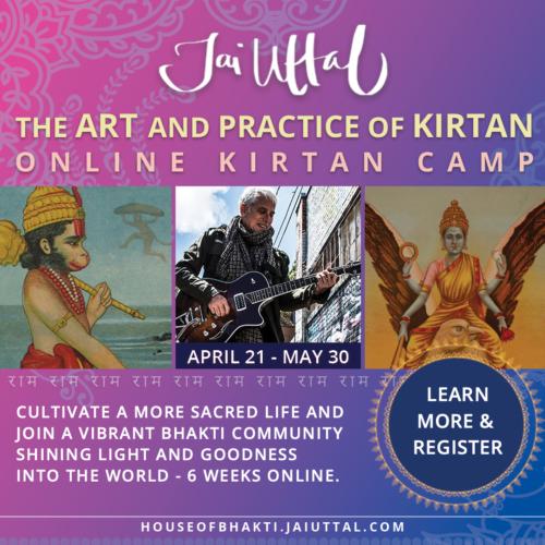 Online Kirtan Training with Jai Uttal
